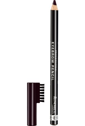 Rimmel London Professional Kaş Kalemi Black Brown