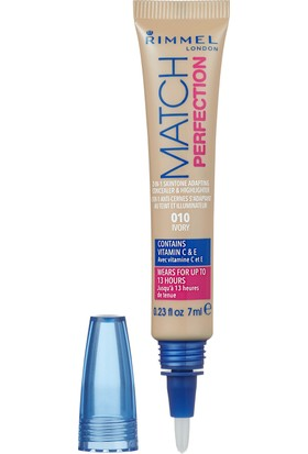 Rimmel London Match Perfection Concealer 010-IVORY
