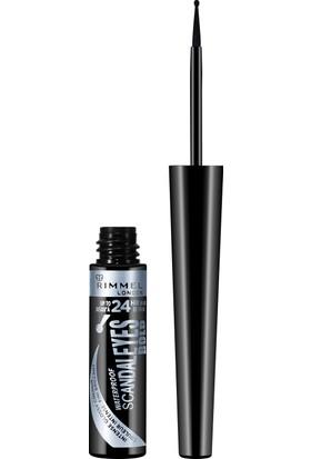 Rimmel London Scandal'Eyes Waterproof Bold Liquid Eyeliner Black
