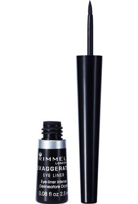Rimmel London Exaggerate Eyeliner 001 100% Black