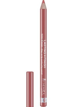 Rimmel London Lasting Finish 1000 Kisses Lip Liner-080 Blushning Nude