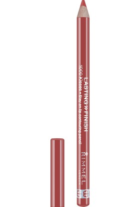 Rimmel London Lasting Finish 1000 Kisses Lip Liner-081 Spiced Nude