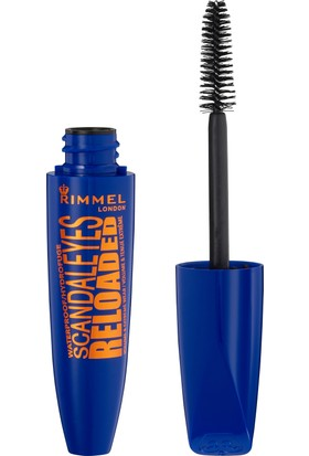 Rimmel London SCANDAL'EYES Reloaded Volume & Extreme Wear Waterproof Maskara - 001 Black