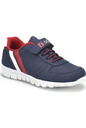 I Cool Demba Lacivert Kırmızı Beyaz Erkek Çocuk Sneaker