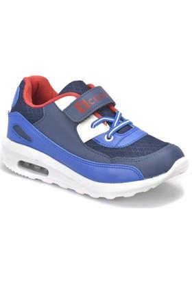 I Cool Pepe Lacivert Saks Beyaz Erkek Çocuk Sneaker