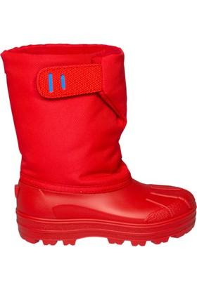 Igor W10175-005 Kırmızı Unisex Çocuk Yağmur Çizmesi