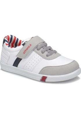 Kinetix Carter Beyaz Lacivert Kırmızı Erkek Çocuk Sneaker
