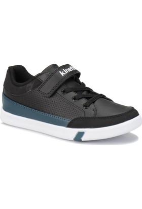 Kinetix Edmon Siyah Beyaz Petrol Erkek Çocuk Sneaker