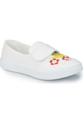 Polaris 81.510316.F Beyaz Kız Çocuk Ayakkabı