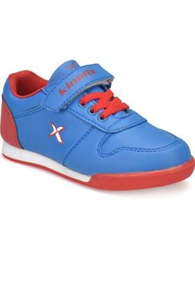 Kinetix Tarin Saks Kırmızı Beyaz Erkek Çocuk Sneaker