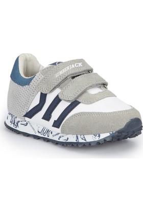 Lumberjack Lost Açık Gri Beyaz Erkek Çocuk Sneaker