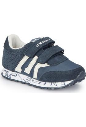 Lumberjack Lost Lacivert Beyaz Erkek Çocuk Sneaker