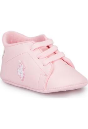 U.S. Polo Assn. Franco Pembe Kız Çocuk Ayakkabı