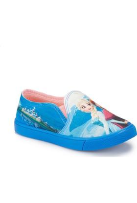 Frozen Trila-1 Lacivert Kız Çocuk Slip On