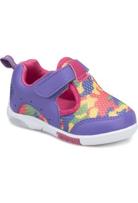 I Cool Becko Mor Pembe Kız Çocuk Sneaker