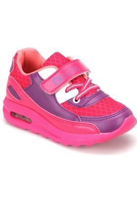 I Cool Pepe Mor Pembe Kız Çocuk Sneaker