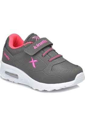 Kinetix Birno Gri Neon Pembe Kız Çocuk Sneaker