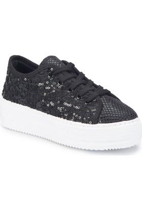 Pink Step Desy-1 Siyah Kız Çocuk Sneaker