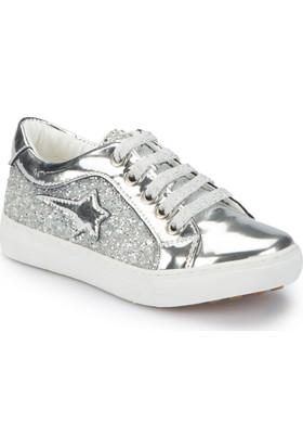 Pink Step Mellov-1 Gümüş Kız Çocuk Sneaker