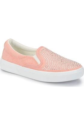Pink Step Nıel Somon Kız Çocuk Slip On