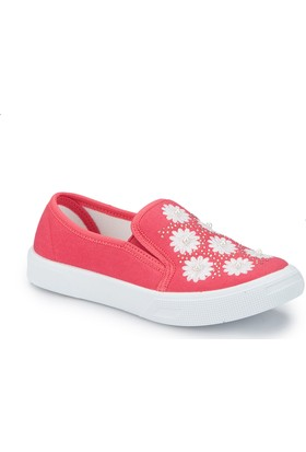 Pink Step Senta Pembe Kız Çocuk Slip On