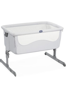 Chicco Next2Me Anne Yanı Beşik / Light Grey