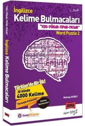 Yargı Yayınları İngilizce Kelime Bulmacaları Yds Yökdil Tıpdil Yksdil Word Puzzle 2 - Mehtap Ekinci