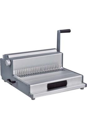 Sarff MC360 Tel-Plastik-Helezon Cilt Kapama Makinesi