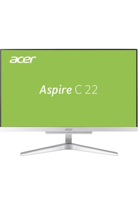 "Acer Aspire C22-860 Intel Core i5 7200U 8GB 1TB Linux 21.5"" FHD All In One Bilgisayar"
