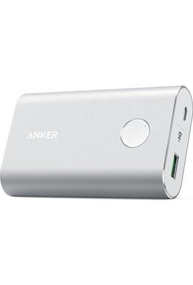 Anker PowerCore+ 10050 mAh Quick Charge 3.0 Taşınabilir Hızlı Şarj Cihazı PowerBank - Gümüş - A1311H41