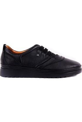 Estile Siyah Günlük Kadın Ayakkabı