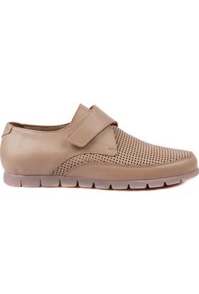 Sail Laker's Bej Cırtlı Günlük Ayakkabı