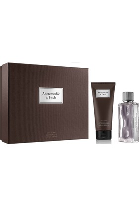 Abercrombie & Fitch First Instinct Man Edt 100 Ml + Body And Hair Wash 200 Ml Set