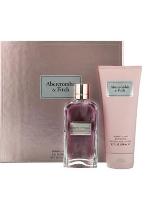 Abercrombie & Fitch First Instinct Woman Edp 100 Ml + Body Lotion 200 Ml Set