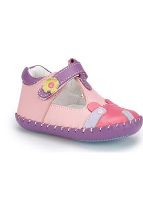 Polaris 81.510000.I Fuşya Kız Çocuk Deri Sneaker