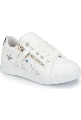 Polaris 81.509103.P Beyaz Kız Çocuk Sneaker