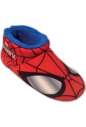Spiderman 90214 Fe Kırmızı Erkek Çocuk Panduf