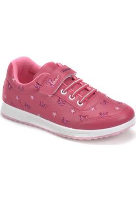 Seventeen Butterfly Fuşya Kız Çocuk Sneaker