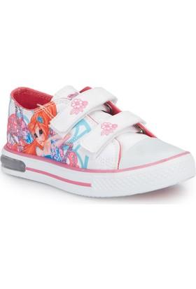 Winx Selen-1 Beyaz Kız Çocuk Sneaker