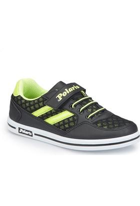 Polaris 81.509315.F Siyah Erkek Çocuk Ayakkabı