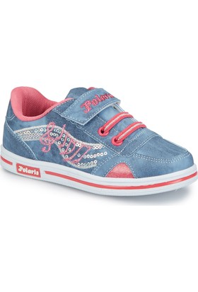 Polaris 81.507095.P Mavi Kız Çocuk Sneaker