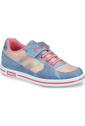 Polaris 81.509314.F Mavi Kız Çocuk Sneaker