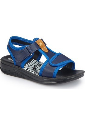 Polaris 81.510297.F Mavi Erkek Çocuk Sandalet