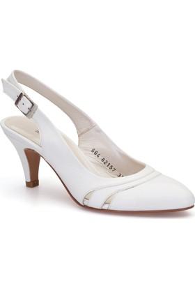 Pedro Camino Bayan Klasik Ayakkabı 82157 Beyaz
