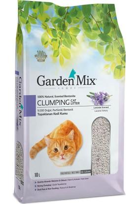 Garden Mix 10 Lt İnce Taneli Lavanta Kokulu Kedi Kumu