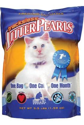 Litter Pearls Ekstra Kedi Kumu - 1 Aylık Paket - 3,5 Lbs - Sıradan Kumlara Göre 4 Kata Kadar Daha Uzun Ömürlü