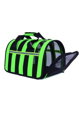DK-008S Yeşil Kedi-Köpek Taşıma Çantası 34*24*26