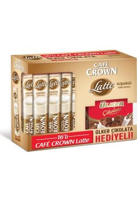 Cafe Crown Latte 16'lı Ülker Çikolata Hediyeli
