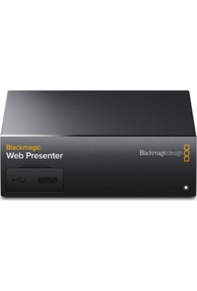 Blackmagic Design Web Presenter (Canlı Yayın Aktarım Cihazı)