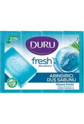 Duru Fresh Sensations Okyanus Esintisi 4'lü Duş Sabunu 640 gr (4 x 160 gr)